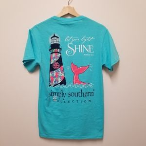 Simply Southern   Let Your Light Shine Tee